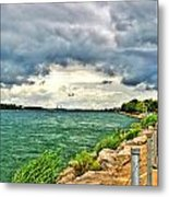 Journey Back From The Bridge Metal Print