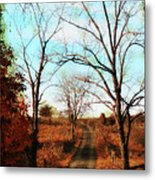 Journey To The Past Metal Print