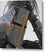 Joust 04 Metal Print by Jeff Stallard