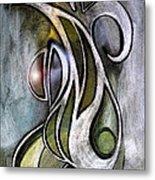 Joy Neoglyph Metal Print