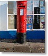 Jubilee Postbox Metal Print