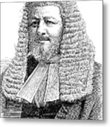 Judah Philip Benjamin Metal Print