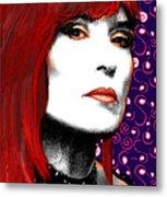 Judy Rose Metal Print