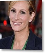 Julia Roberts At Arrivals For Larry Metal Print