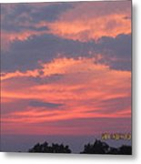 July 10 Sunset One Metal Print
