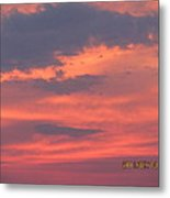 July 10 Sunset Two Metal Print
