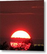 July 16 Sunset Six Metal Print
