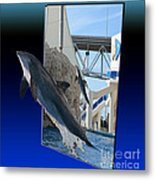Jumping For You Metal Print