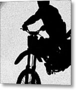 Jumping High Metal Print