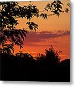June Sunset Metal Print