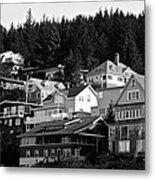 Juneau Homes Metal Print