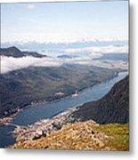 Juneau View Metal Print