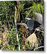Jungle Flight Metal Print