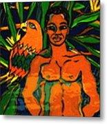 Jungle Pals Metal Print