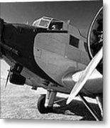 Junkers Ju 52 1939 Metal Print