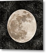 Just A Little Ole Super Moon Metal Print by Andee Design