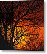 Just A Pretty Sunrise Metal Print