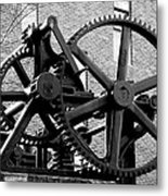 Just Another Cog Metal Print
