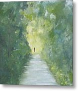 Just Another Road To Somewhere Metal Print