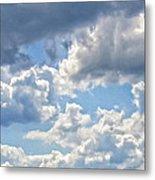Just Clouds Metal Print