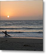 Just One More Wave Metal Print
