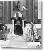 Justinian I (483-565) Metal Print