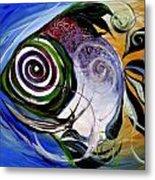 J.v. Wishin Fish 3 Metal Print