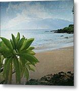 Ka Makani Olu Olu  -  Polo Beach Maui Hawaii Metal Print