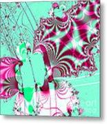 Kabuki . Square Metal Print by Wingsdomain Art and Photography