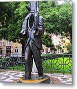 Kafka Monument Metal Print