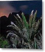 Kalalau Mountains At Night Metal Print
