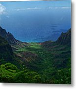 Kalalau Valley 3 Metal Print by Ken Smith