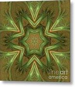 Kaleid Flower Metal Print