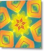 Kaleidoscope Series Number 8 Metal Print