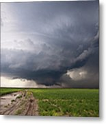 Kansas Distant Tornado Vortex 2 Metal Print by Ryan McGinnis