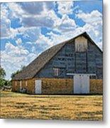 Kansas Stone Barn Metal Print