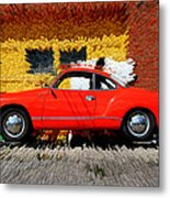 Karmann Ghia Metal Print