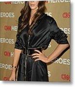 Kate Beckinsale Wearing An Yves Saint Metal Print by Everett