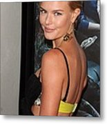 Kate Bosworth At Arrivals For True Metal Print by Everett