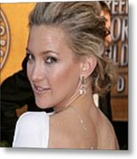 Kate Hudson At Arrivals For 16th Annual Metal Print by Everett