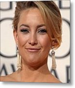 Kate Hudson At Arrivals For The 67th Metal Print by Everett