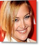 Kate Hudson At Arrivals For Times 100 Metal Print by Everett
