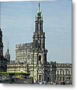 Katholische Hofkirche - Dresden Metal Print