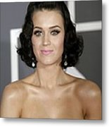 Katy Perry At Arrivals For Arrivals - Metal Print