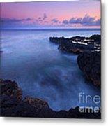 Kauai  Pastel Tides Metal Print