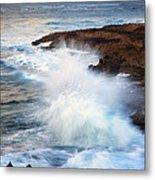 Kauai Sea Explosion Metal Print