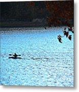 Kayaking  Metal Print