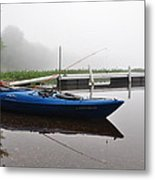 Kayaking Morning Metal Print