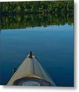 Kayaking Range Ponds 0003 Metal Print