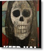 Keep Hal In Halloween Metal Print